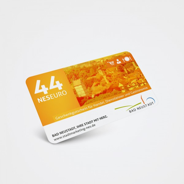 Geschenkgutschein 44 Euro