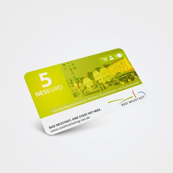 Geschenkgutschein 5 Euro